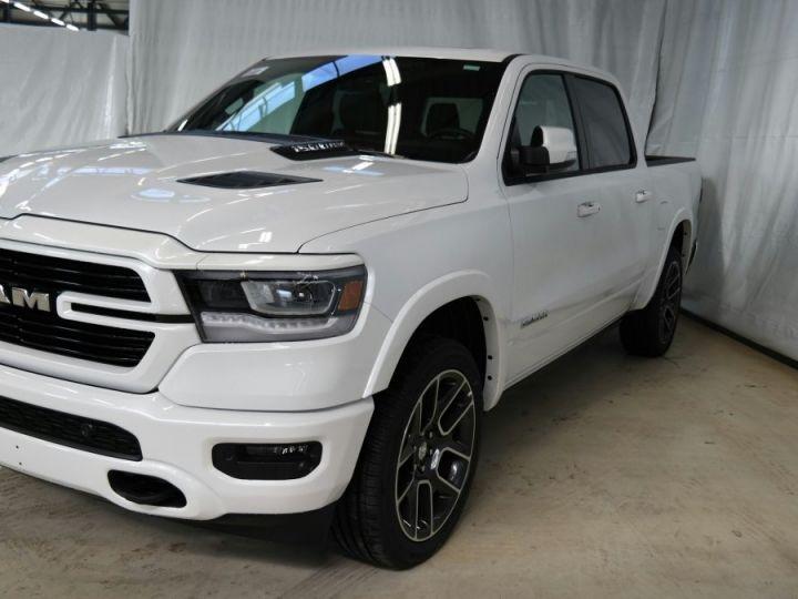 Dodge Ram LARAMIE SPORT CREW CAB PAS D'ECOTAXE/PAS DE TVS/TVA RECUPERABLE Blanc Neuf - 1