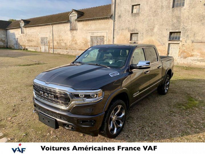 Dodge Ram LIMITED 2021 BODYCOLOR SUSPENSION/ALP/AFFICHAGE TÊTE HAUTE - PAS D'ÉCOTAXE/PAS TVS/TVA RÉCUPÉRABLE Granit Crystal Neuf - 1