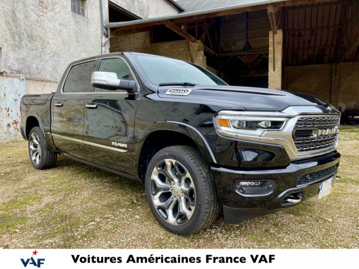 Dodge Ram LIMITED 2021 - calandre chrome/rambox/multitailgate - PAS D'ÉCOTAXE/PAS TVS/TVA RECUP NEUF EN STOCK Noir Métal Neuf - 2