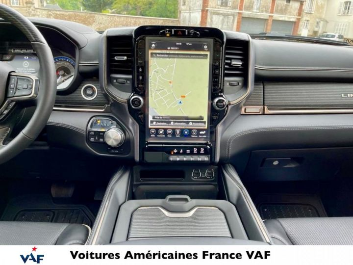 Dodge Ram LIMITED 2021 - calandre chrome/rambox/multitailgate - PAS D'ÉCOTAXE/PAS TVS/TVA RECUP NEUF EN STOCK Noir Métal Neuf - 6
