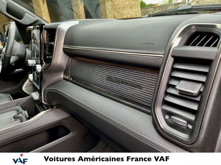 Dodge Ram LIMITED 2021 - calandre chrome/rambox/multitailgate - PAS D'ÉCOTAXE/PAS TVS/TVA RECUP NEUF EN STOCK Noir Métal Neuf - 9