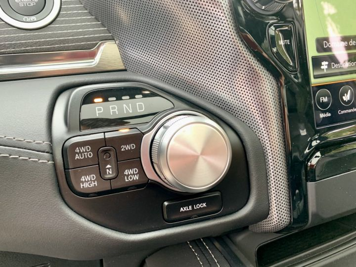 Dodge Ram Limited 2021 Night Edition Crew Pack tech/Alp/Suspension - PAS D'ÉCOTAXE/TVS/TVA RECUP Granit Crystal Neuf - 8