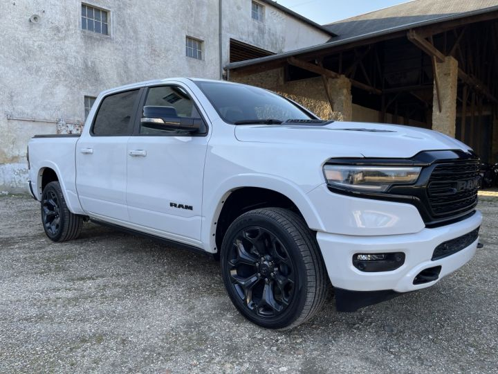 Dodge Ram LIMITED 2021 NIGHT EDITION NEUF - PAS D'ÉCOTAXE/PAS TVS/TVA RECUP Ivory White / Pack Night Edition Neuf - 3