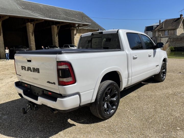 Dodge Ram LIMITED 2021 NIGHT EDITION NEUF - PAS D'ÉCOTAXE/PAS TVS/TVA RECUP Ivory White / Pack Night Edition Neuf - 4