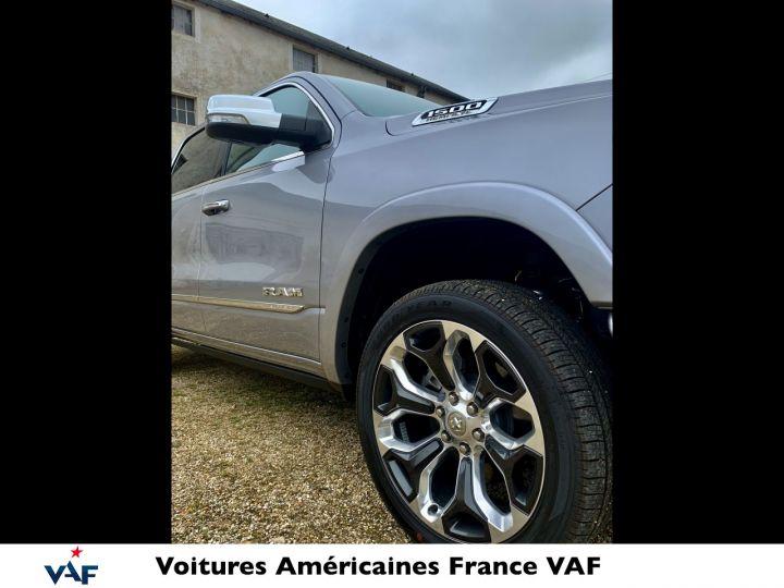 """Dodge Ram LIMITED AFFICH.TÊTE HAUTE/SUSPENSION/ECRAN 12"""" 2021 - PAS D'ÉCOTAXE/PAS TVS/TVA RÉCUPÉRABLE Billet Silver Bodycolor Neuf - 4"""