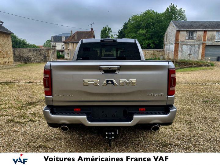 """Dodge Ram LIMITED AFFICH.TÊTE HAUTE/SUSPENSION/ECRAN 12"""" 2021 - PAS D'ÉCOTAXE/PAS TVS/TVA RÉCUPÉRABLE Billet Silver Bodycolor Neuf - 6"""