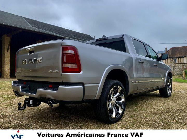 """Dodge Ram LIMITED AFFICH.TÊTE HAUTE/SUSPENSION/ECRAN 12"""" 2021 - PAS D'ÉCOTAXE/PAS TVS/TVA RÉCUPÉRABLE Billet Silver Bodycolor Neuf - 7"""