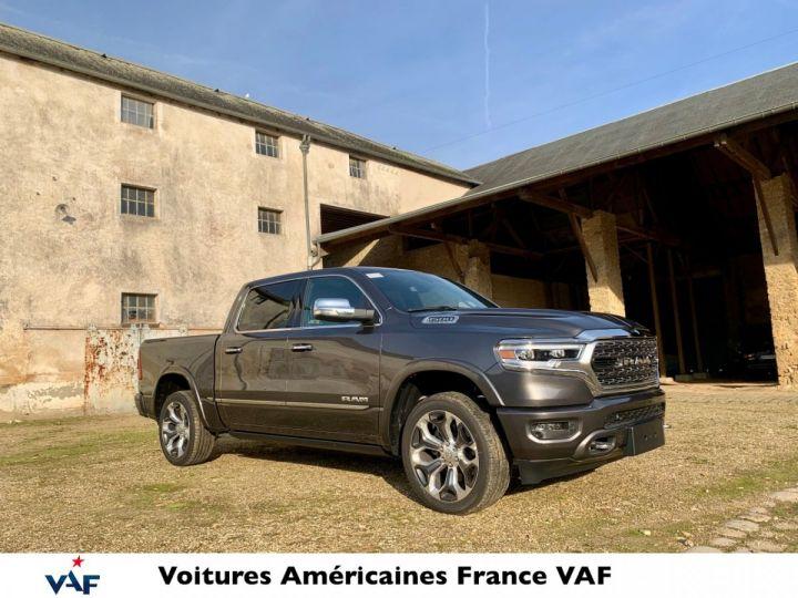 """Dodge Ram LIMITED BODYCOLOR MULTITAILGATE/SUSPENSION/ECRAN 12"""" 2021 NEUF - PAS D'ÉCOTAXE/PAS TVS/TVA RÉCUPÉRABLE Granit Crystal Vendu - 1"""
