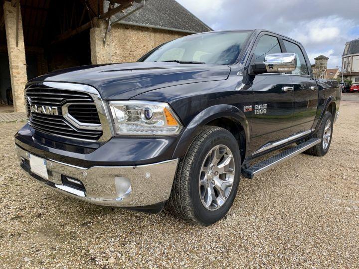 Dodge Ram Limited CrewCab Supension + GPL + Pot INOX + RamBox Noir métal Occasion - 3