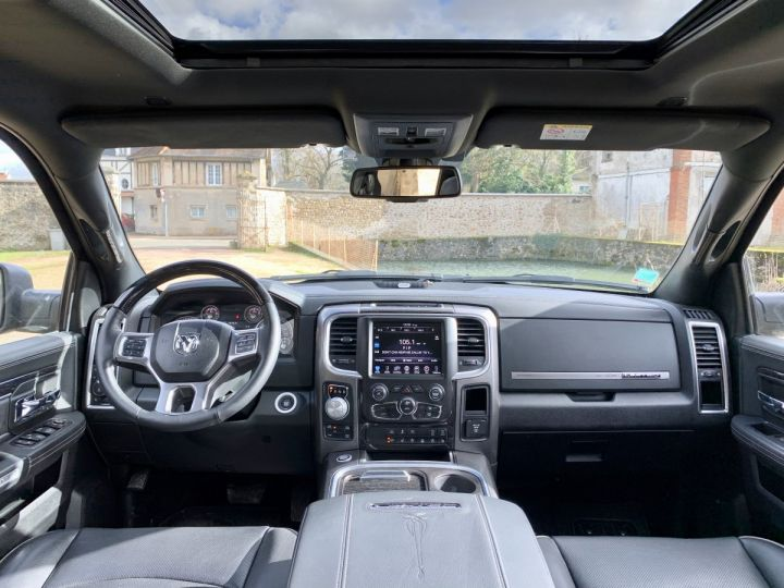 Dodge Ram Limited CrewCab Supension + GPL + Pot INOX + RamBox Noir métal Occasion - 7