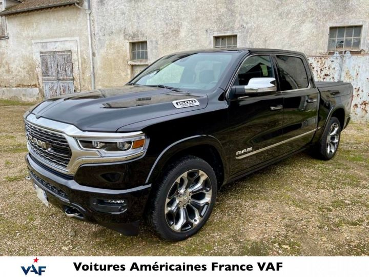 Dodge Ram LIMITED HYBRIDE/TAILGATE *BLACKEDITION* 2020 neuf - PAS D'ÉCOTAXE/PAS TVS/TVA RECUPE  Noir Métal Neuf - 1