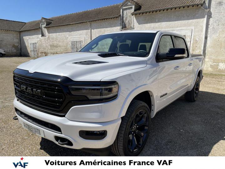 Dodge Ram LIMITED NIGHT EDITION MULTITAILGATE/AFF. TETE HAUTE/ 2022 NEUF - PAS D'ÉCOTAXE/PAS TVS/TVA RÉCUPÉRABLE Yvory White Neuf - 1