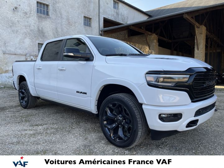 Dodge Ram LIMITED NIGHT EDITION MULTITAILGATE/AFF. TETE HAUTE/ 2022 NEUF - PAS D'ÉCOTAXE/PAS TVS/TVA RÉCUPÉRABLE Yvory White Neuf - 3