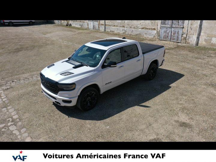 Dodge Ram LIMITED NIGHT EDITION MULTITAILGATE/AFF. TETE HAUTE/ 2022 NEUF - PAS D'ÉCOTAXE/PAS TVS/TVA RÉCUPÉRABLE Yvory White Neuf - 4