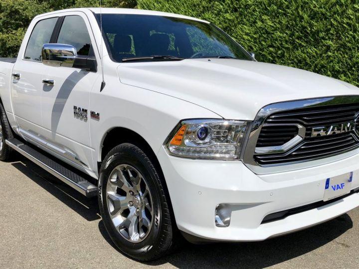 Dodge Ram Limited Suspension Rambox GPL + Flex E85 crit'air 1 TVA Récup, pas TVS, pas ecotaxe BLANC Vendu - 1
