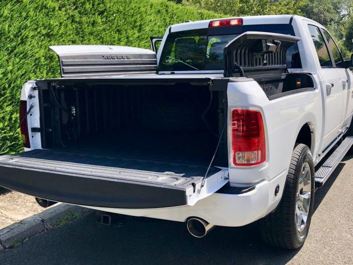 Dodge Ram Limited Suspension Rambox GPL + Flex E85 crit'air 1 TVA Récup, pas TVS, pas ecotaxe BLANC Vendu - 5