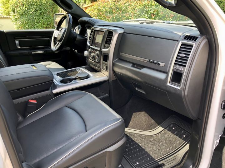 Dodge Ram Limited Suspension Rambox GPL + Flex E85 crit'air 1 TVA Récup, pas TVS, pas ecotaxe BLANC Vendu - 9