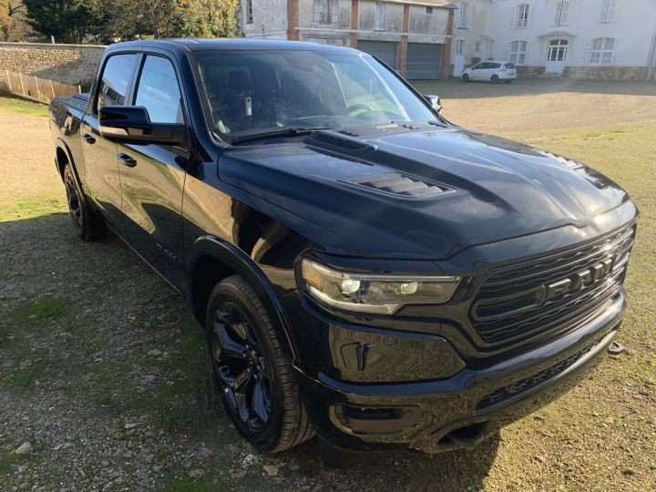 Dodge Ram Limited TAILGATE/RAMBOX *BLACK EDITION* 2021 NEUF - PAS D'ÉCO/PAS TVS/TVA RECUP Noir + PACK BLACKEDITION Neuf - 3
