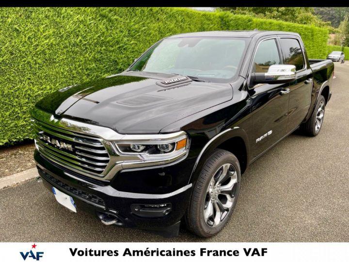 """Dodge Ram LONGHORN 2021 Crew Cab - tech pack/suspension/ecran 12"""" - PAS D'ÉCOTAXE/PAS TVS/TVA RÉCUPÉRABLE Noir Métal Neuf - 1"""