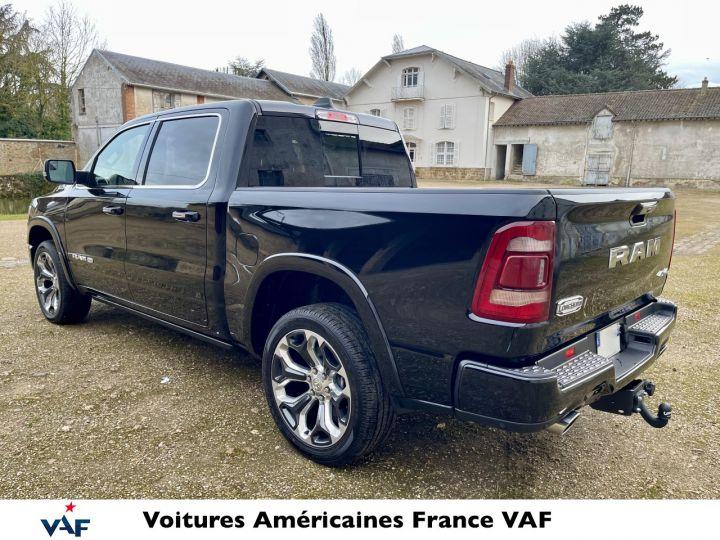 """Dodge Ram LONGHORN 2021 Crew Cab - tech pack/suspension/ecran 12"""" - PAS D'ÉCOTAXE/PAS TVS/TVA RÉCUPÉRABLE Noir Métal Neuf - 5"""