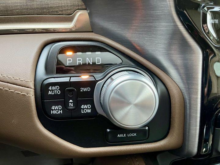 Dodge Ram LONGHORN CREW CAB ALP+Grand écran PAS D'ECOTAXE/PAS DE TVS/TVA RECUPERABLE NOIR Neuf - 10
