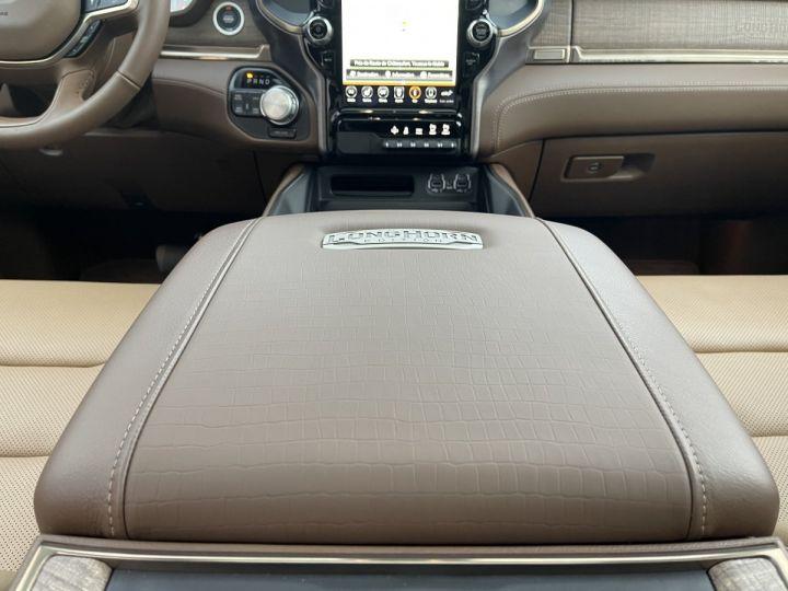Dodge Ram LONGHORN CREW CAB ALP+Grand écran PAS D'ECOTAXE/PAS DE TVS/TVA RECUPERABLE NOIR Neuf - 11