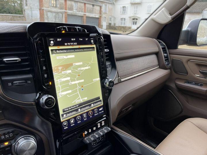 Dodge Ram LONGHORN CREW CAB ALP+Grand écran PAS D'ECOTAXE/PAS DE TVS/TVA RECUPERABLE NOIR Neuf - 9