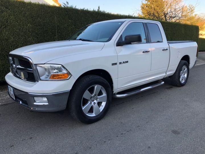 Dodge RAM SLT QUAD CAB essence/ GPL 4 places pas de TVS pas d'ecotaxe TVA Récup BLANC Occasion - 1