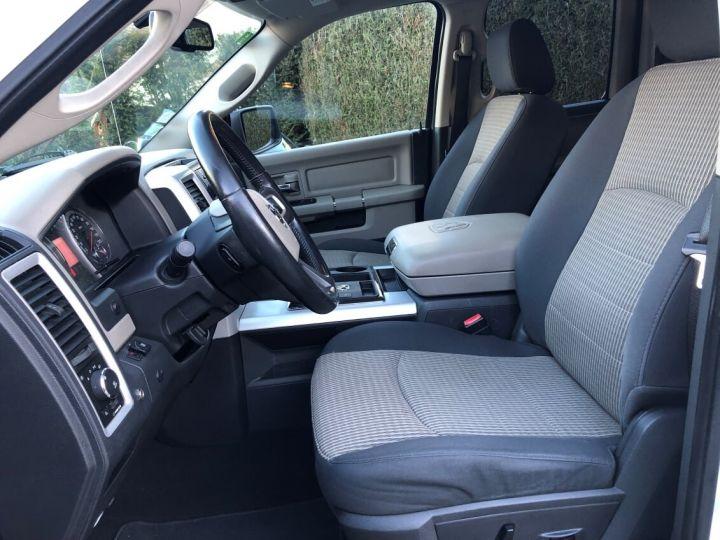 Dodge RAM SLT QUAD CAB essence/ GPL 4 places pas de TVS pas d'ecotaxe TVA Récup BLANC Occasion - 2