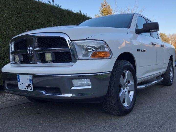 Dodge RAM SLT QUAD CAB essence/ GPL 4 places pas de TVS pas d'ecotaxe TVA Récup BLANC Occasion - 8