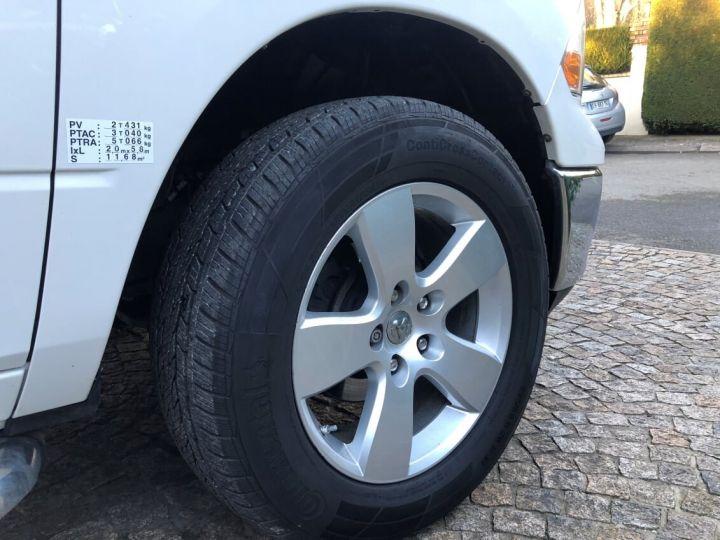 Dodge RAM SLT QUAD CAB essence/ GPL 4 places pas de TVS pas d'ecotaxe TVA Récup BLANC Occasion - 9