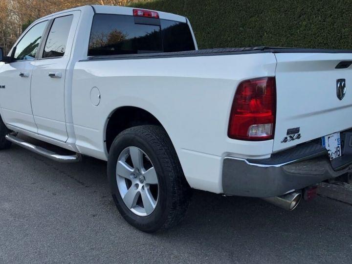 Dodge RAM SLT QUAD CAB essence/ GPL 4 places pas de TVS pas d'ecotaxe TVA Récup BLANC Occasion - 10