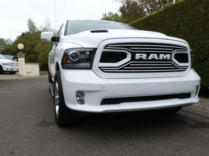 Dodge RAM  SPORT CREW SUSPENSION  RAMBOX NEUF CTTE PLATEAU  BLANC Vendu - 4