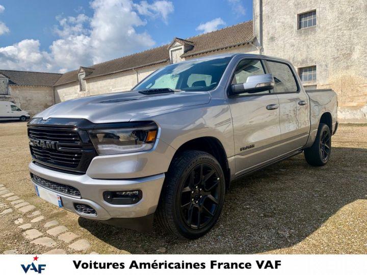 Dodge Ram Sport Night Ed 2021 - Multitailgate - PAS D'ÉCOTAXE/TVS/TVA RECUP Billet Sylver / Pack Black Edition Neuf - 1