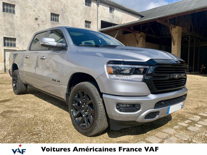 Dodge Ram Sport Night Ed 2021 - Multitailgate - PAS D'ÉCOTAXE/TVS/TVA RECUP Billet Sylver / Pack Black Edition Neuf - 3
