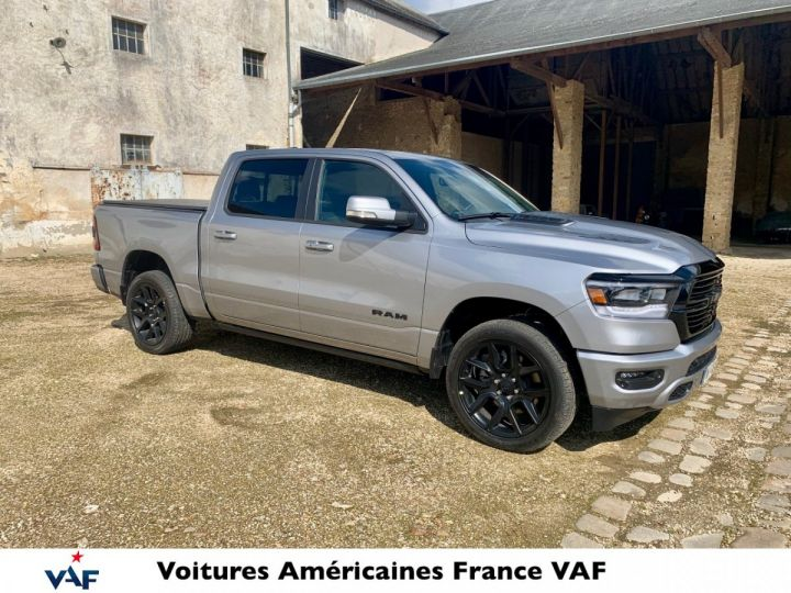 Dodge Ram Sport Night Ed 2021 - Multitailgate - PAS D'ÉCOTAXE/TVS/TVA RECUP Billet Sylver / Pack Black Edition Neuf - 4