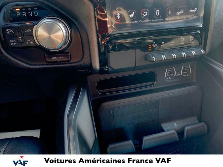 Dodge Ram Sport Night Ed 2021 - Multitailgate - PAS D'ÉCOTAXE/TVS/TVA RECUP Billet Sylver / Pack Black Edition Neuf - 14
