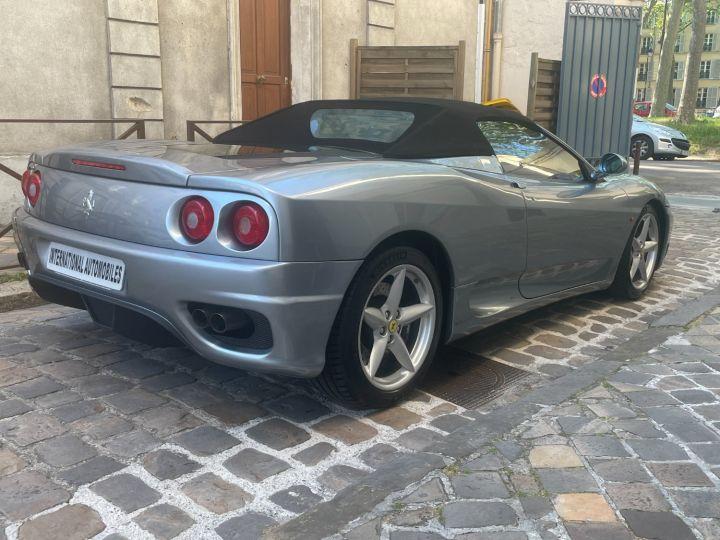 Ferrari 360 Modena Spider F1 Gris Titane - 6
