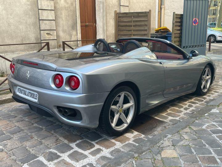 Ferrari 360 Modena Spider F1 Gris Titane - 7