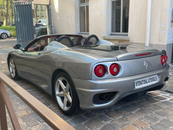 Ferrari 360 Modena Spider F1 Gris Titane - 11