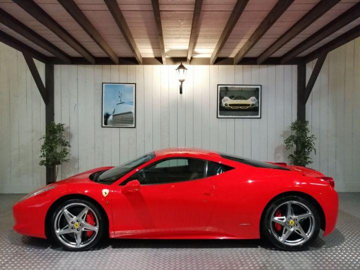 Ferrari 458 Italia 4.5 V8 570 CV BVA Rouge - 1