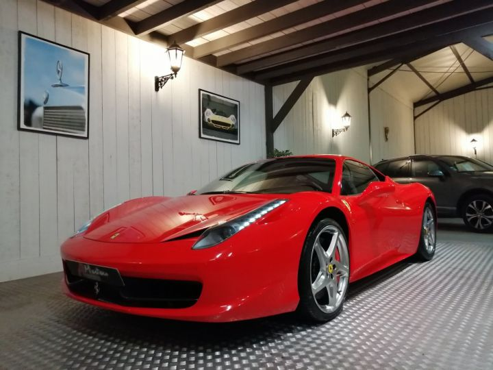 Ferrari 458 Italia 4.5 V8 570 CV BVA Rouge - 2