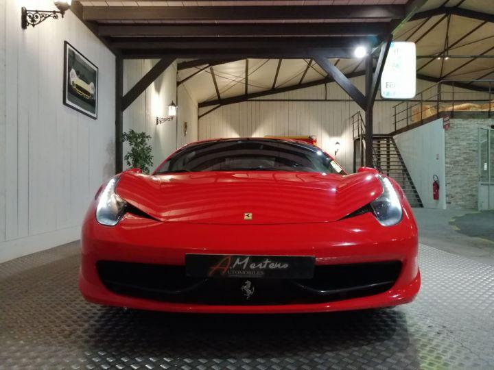 Ferrari 458 Italia 4.5 V8 570 CV BVA Rouge - 3