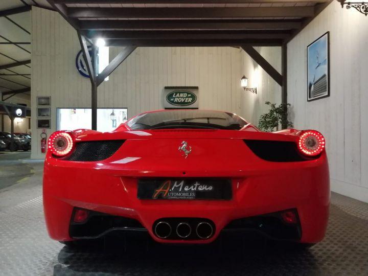 Ferrari 458 Italia 4.5 V8 570 CV BVA Rouge - 4