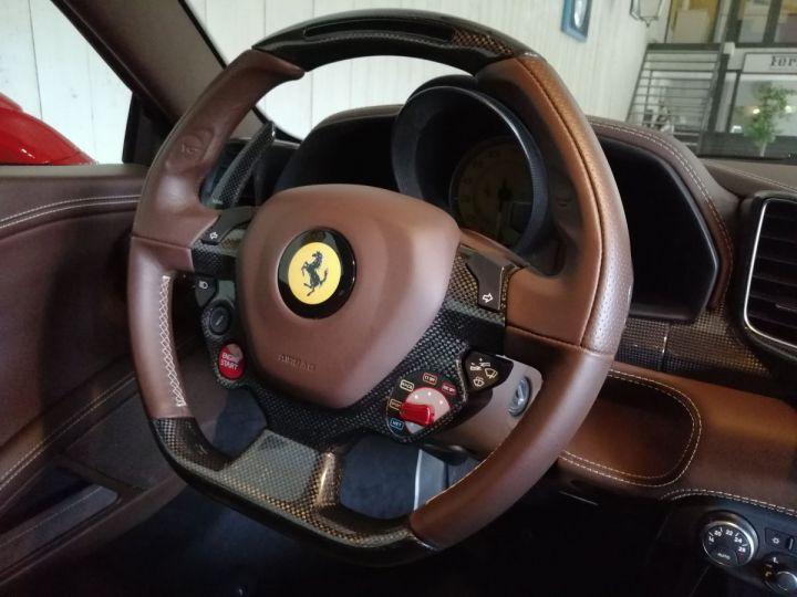 Ferrari 458 Italia 4.5 V8 570 CV BVA Rouge - 7