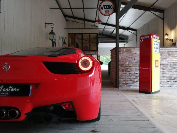 Ferrari 458 Italia 4.5 V8 570 CV BVA Rouge - 20