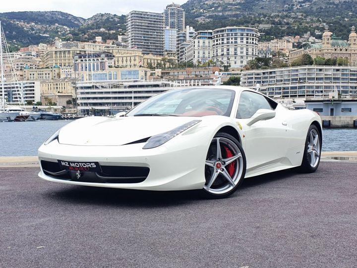 Ferrari 458 Italia 570 CV Bianco Avus Vendu - 1