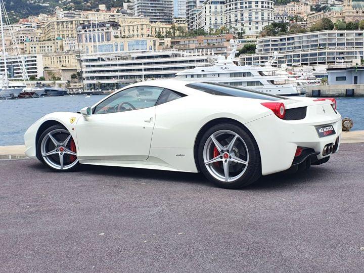 Ferrari 458 Italia 570 CV Bianco Avus Vendu - 15