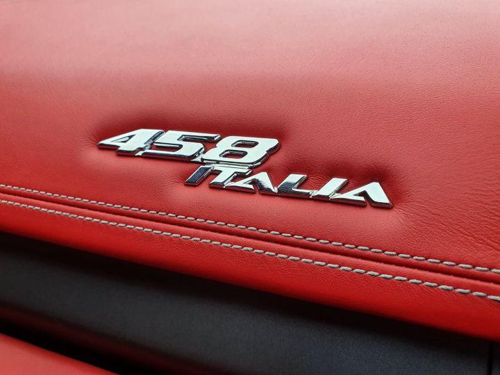 Ferrari 458 Italia 570 CV Bianco Avus Vendu - 23