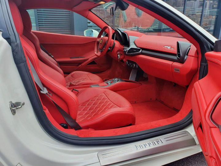 Ferrari 458 Italia 570 CV Bianco Avus Vendu - 22